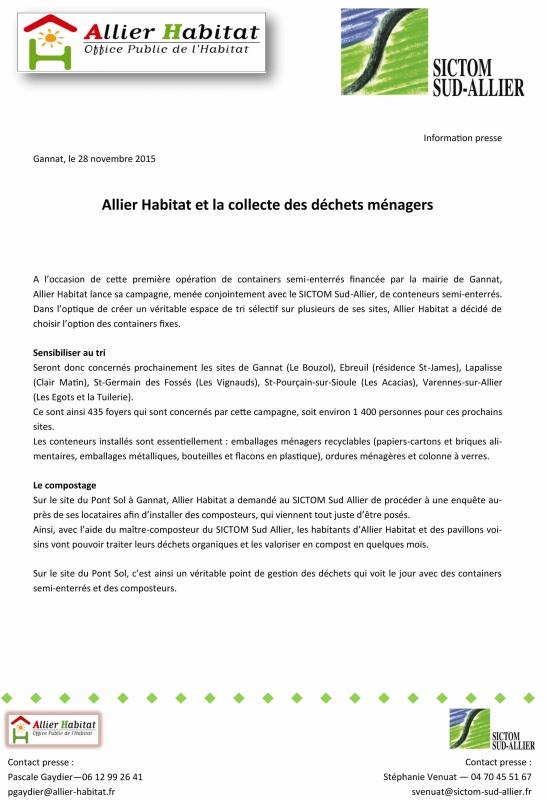 Allier habitat annonces immobili res maisons et - Office de tourisme varennes sur allier ...