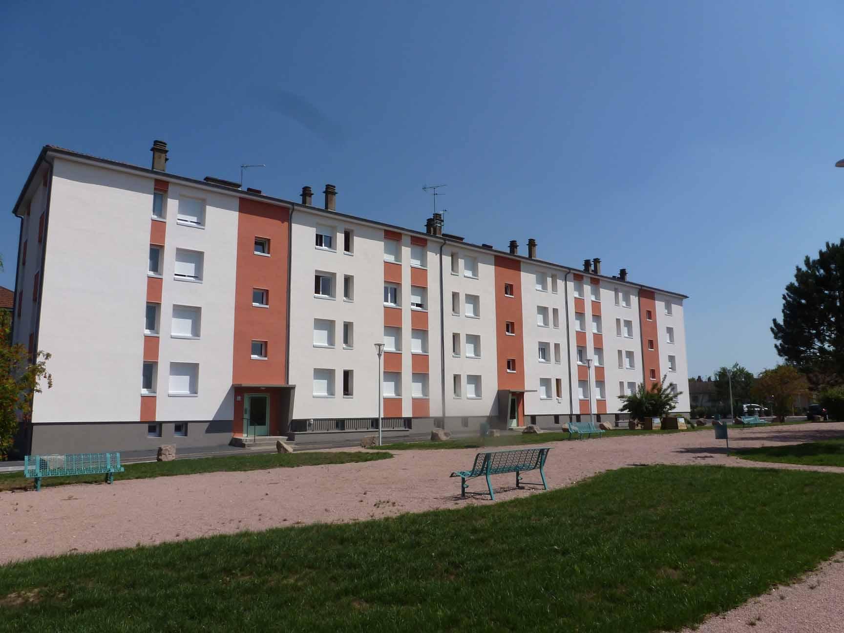 APPARTEMENT T4 / 72 m² (AGENCE DE CUSSET)